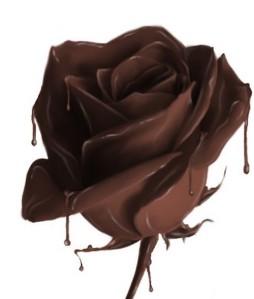 coklat mawar